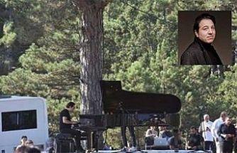 Fazıl Say, Kaz Dağları için konser verdi