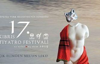 Kıbrıs Tiyatro Festivali'nin tanıtım kokteyli çarşamba akşamı