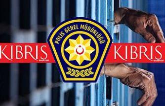 KKTC'de izinsiz ikamet eden 6 kişi tutuklandı
