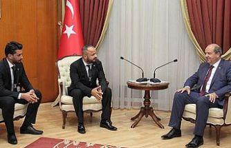 Tatar KKTC Beşiktaş Taraftarları Derneği'ni kabul etti