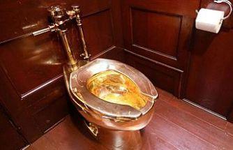 5 Milyon dolarlık altın tuvaleti saraydan çaldılar