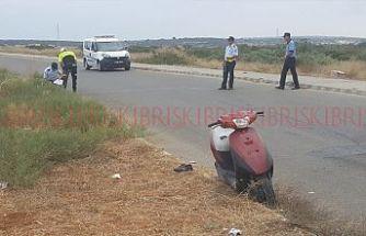 Bir kazada Bafra'da! Motosiklet sürücüsü ağır yaralandı