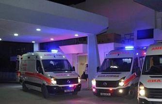 Boğulma tehlikesi geçiren bir kişi hastaneye kaldırıldı