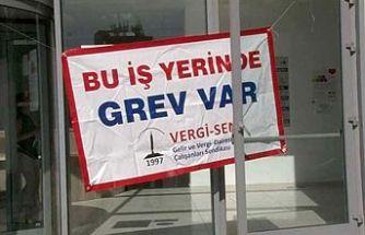 Girne'de süresiz grev başladı