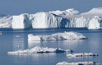 Grönland'da buzul koptu