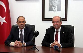 Tatar, Özersay ve Taçoy Ankara'ya gidiyor
