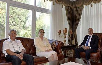 Akıncı, Kıbrıs Türk Diyabet Derneği'ni kabul etti