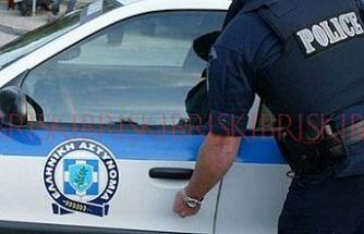 Baf'ta banka önünde bıçaklı soygun