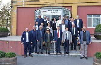 Belediye Başkanları İstanbul'da temaslarda bulundu