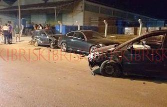 Ehliyetsiz alkollü sürücü trafikte terör yarattı
