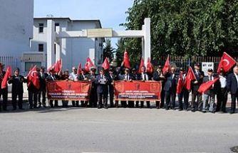 Kıbrıs Gazilerinden Barış Pınarı Harekatı'na destek