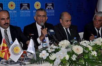 Özçınar: Kıbrıs Türk Belediyeleri olarak en büyük isteğimiz uluslararası destek