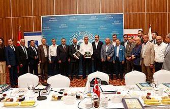 Yeni yönetim kurulunun ilk toplantısı Girne'de