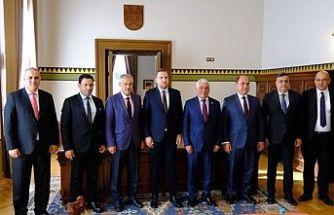 Belediyeler Birliği Bosna Hersek'te temaslarda bulundu