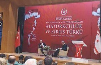 'Bir Toplumun Milletle Buluşması-Atatürkçülük ve Kıbrıs Türkü' paneli gerçekleştirildi