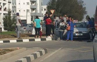 Gönyeli'de kaza, 1 kişi müşahade altına alındı