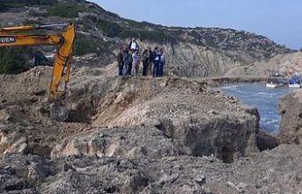 Kayalar Balıkçı Barınağı'nda tadilata başlandı