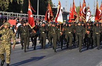 KKTC'nin 36. kuruluş yıldönümü törenlerle kutlanıyor
