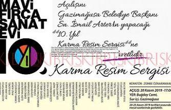 Mavi Fırça Sanat Evi, 10. Karma Resim Sergisi 20 Kasım'da açılıyor