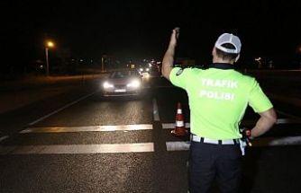 Polisten trafik ve asayiş denetimi