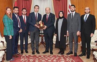Tatar, AKP Gençlik Kolları Yönetim Kurulu üyelerini kabul etti
