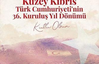 TC Cumhurbaşkanı Erdoğan'dan KKTC'nin 36. Yıl dönümü paylaşımı