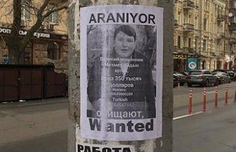 'Tosuncuk' için Kiev'de aranıyor ilanı (Ödül 350 bin dolar)