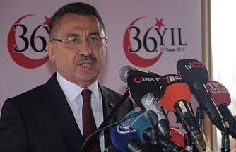 """""""Türkiye Kıbrıs Türkü'nün yanında durmaya devam edecek"""""""