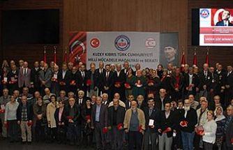 114 Kıbrıs Gazisine Madalya ve Berat Belgesi verildi