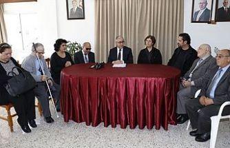 Akıncı, Kıbrıs Türk Engelliler Federasyonu'nu ziyaret etti