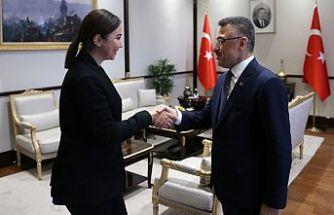 Oktay, İçişleri Bakanı Baybars'ı kabul etti