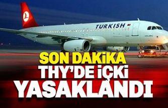 SON DAKİKA: THY, uçuşlarında alkol ikramını kaldırdı