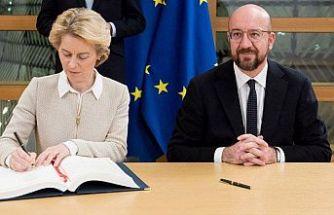 AB Brexit'i onayladı! İngiltere ayrılıyor