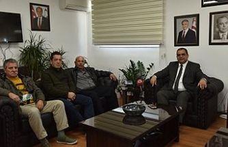 Bakan Sucuoğlu Balıkçıları kabul etti