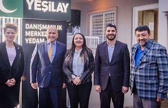 Başçeri Kıbrıs Türk Yeşilay Derneği'ni ziyaret etti