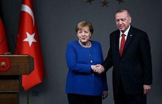 Erdoğan: Almanya ile ilişkilerimizi güçlendirerek devam ettireceğiz