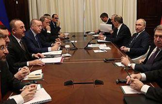 Erdoğan-Putin Berlin'de görüştü