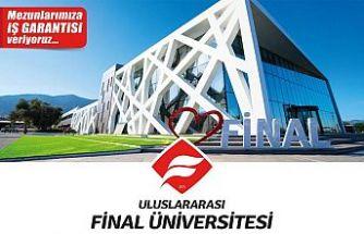 Final üniversitesi burs ve sıralama sınavı 11 Haziran'da