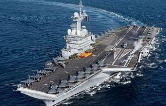 Fransa, dev savaş gemisini Kıbrıs'a gönderiyor