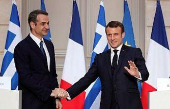 Fransa ve Yunanistan'dan Doğu Akdeniz'de ortak adım