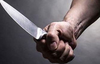Gazimağusa'da bıçakla yaralama