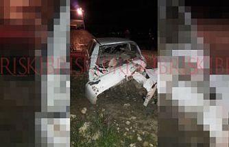 İskele - Karpaz yolunda korkutan kaza! Sürücü '232 promil' alkollü çıktı