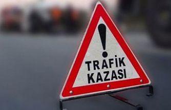 Korkutan kazalar.... 5 sürücüden 4'ü alkollü çıktı: 2 yaralı