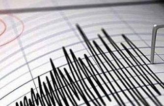 Manisa'da 4,8 büyüklüğünde deprem