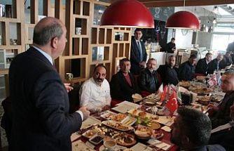 Tatar, 14 sivil toplum örgütü başkanı ile bir araya geldi