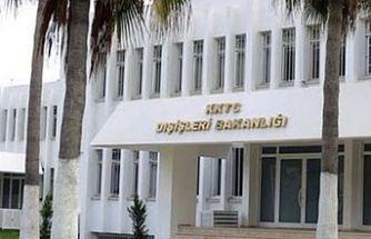 Dışişleri Bakanlığı:  İyi niyetten uzak bir karar