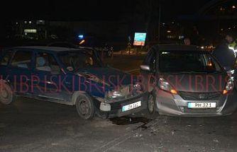 172 promil alkollü sürücü kazaya sebebiyet verdi