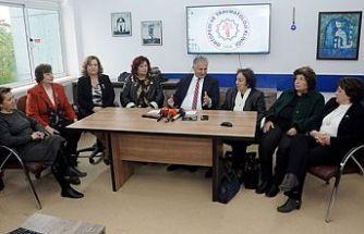Kadınlar Birliği'nden Devlet hastanesine bağış