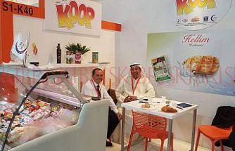 Koop- Süt, Dubai  Gulfood Gıda Fuarı'nda