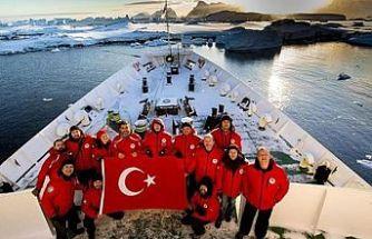 Türk Bilim İnsanları Antarktika'ya ulaştı